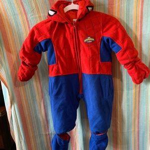 Spider-Man Fleece Costume